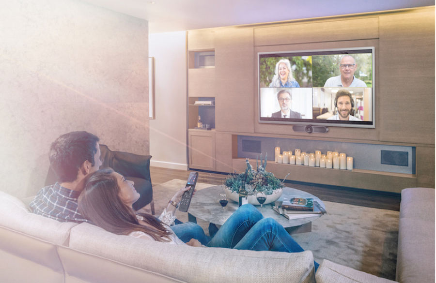 Want Business Quality Videoconferencing at Home? Meet Crestron HomeTime